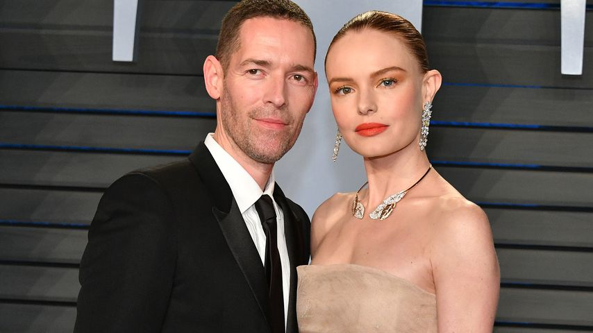Michael Polish und Kate Bosworth bei der Vanity Fair Oscar Party 2018