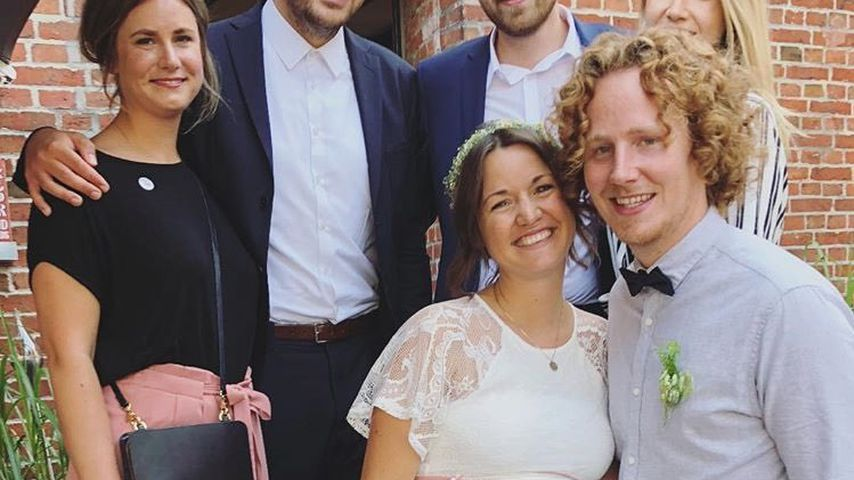 Erstes Bild als Ehemann: So süß strahlt Michael Schulte!