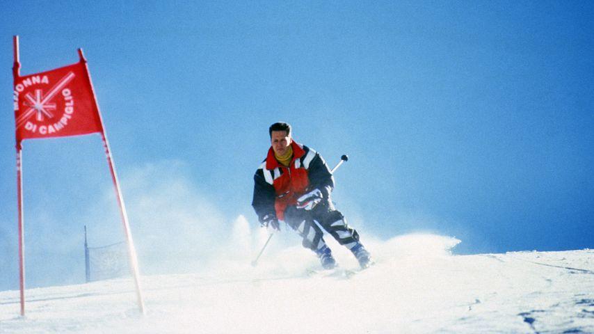 Michael Schumacher im Skiurlaub in Italien