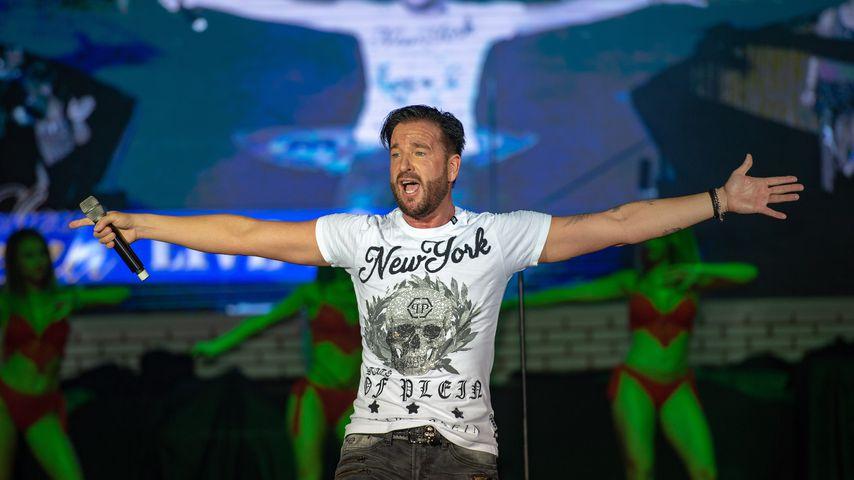 Michael Wendler bei einem Auftritt im Megapark