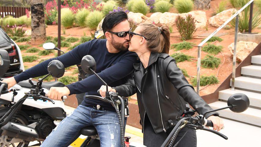 Michael Wendler und Laura M. im Mai 2019 auf Mallorca