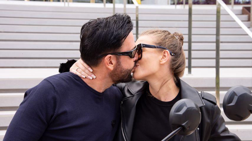 Michael Wendler und Laura Müller auf Mallorca