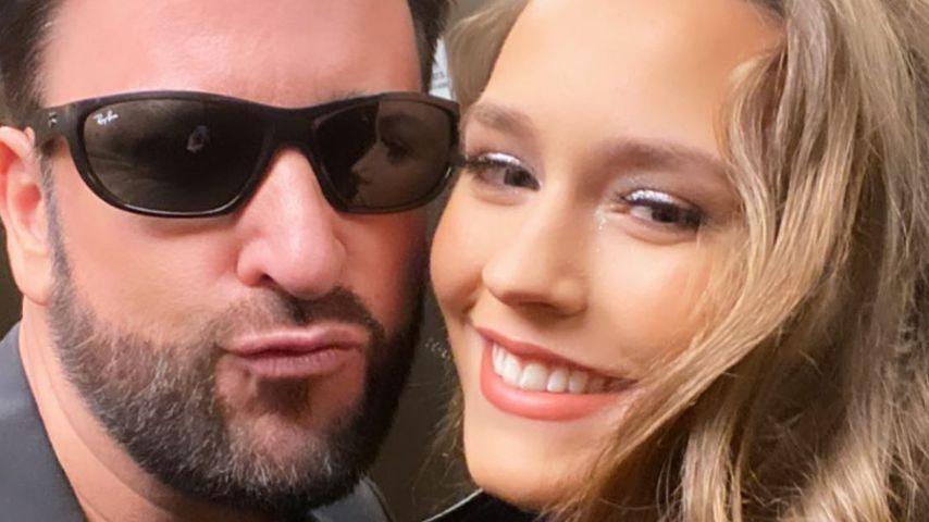 Michael Wendler und Laura Müller im April 2020