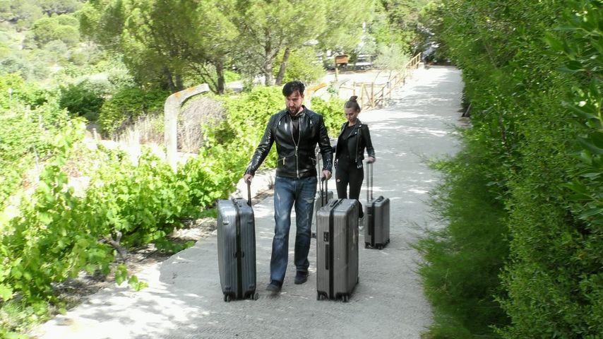 Wendler und Laura verlassen das Sommerhaus ohne ein Tschüss!