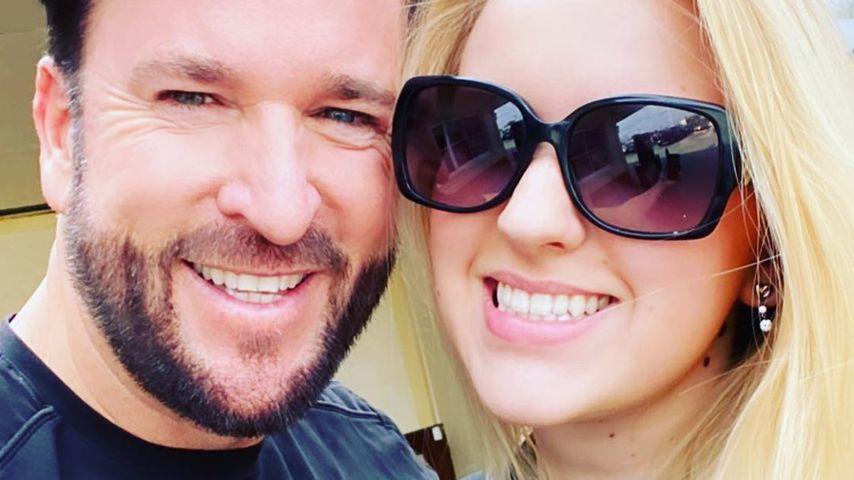 Michael Wendler und seine Tochter Adeline im Februar 2020