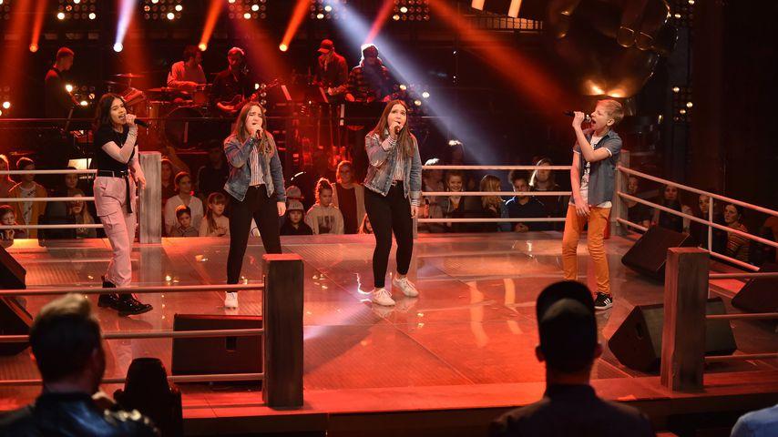 Michelle, Charis, Joleen und Nils