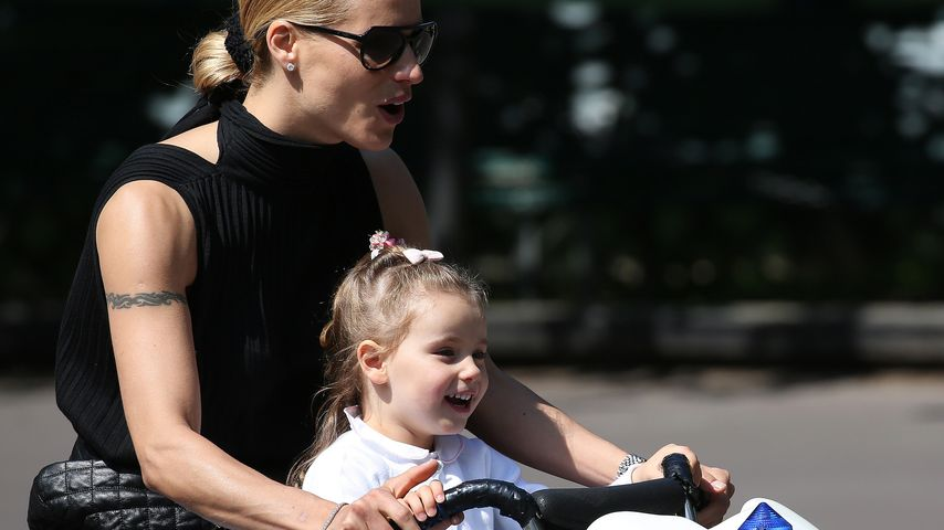 Abgefahren! Michelle Hunziker & ihre Töchter als coole Biker