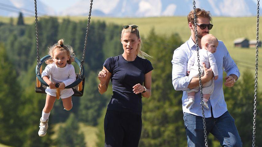 Michelle Hunziker: Traumhafter Familien-Urlaub in den Alpen