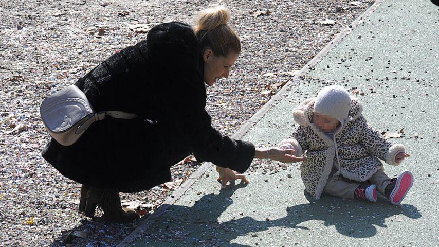 Schon so groß: Celeste Trussardi feiert heute 1. Geburtstag
