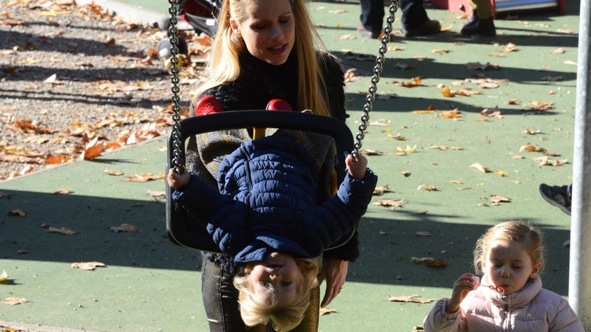 Celeste steht Kopf! Michelle Hunzikers süßer Mailand-Ausflug
