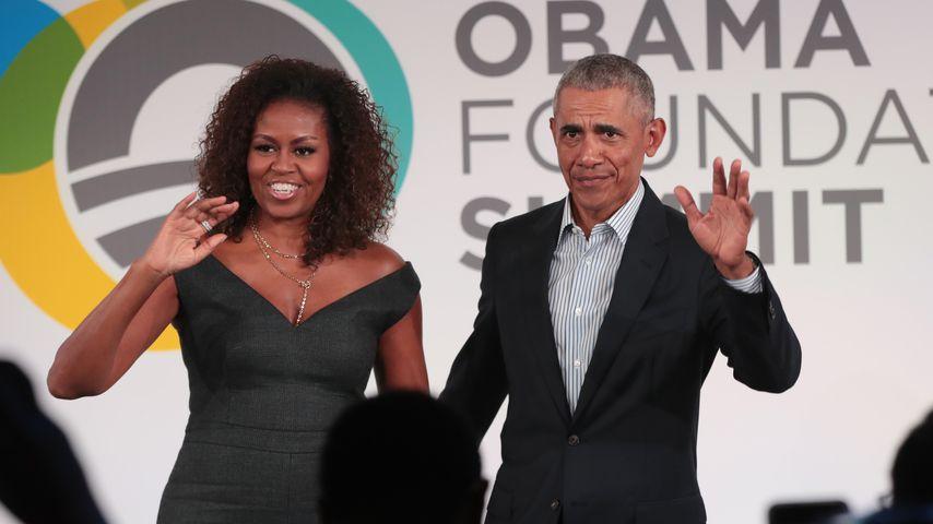 Michelle und Barack Obama, Oktober 2019