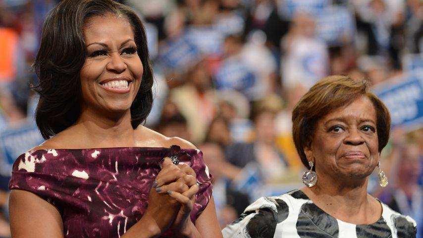 Michelle Obama und Marian Robinson in Charlotte im September 2012