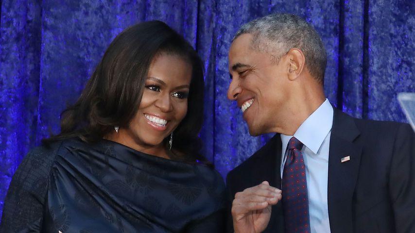 Michelle und Barack Obama im Februar 2018
