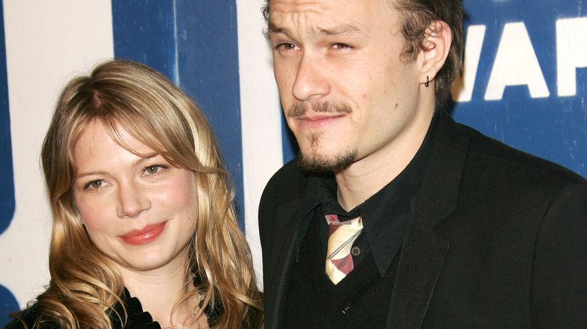Michelle Williams und Heath Ledger