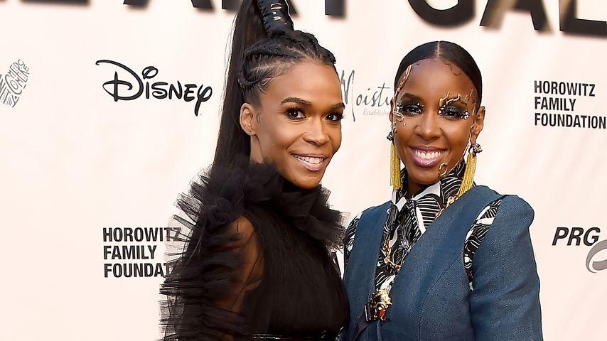 Ex-Destiny's Child-Mitglieder Michelle Williams und Kelly Rowland bei der Wearable Art Gala 2019