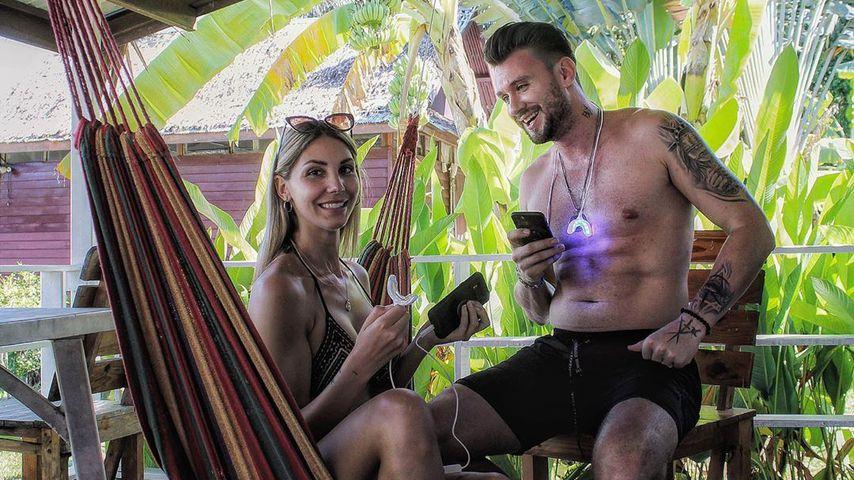 Michi Bauer und Freundin Stephie, 2020 in Thailand