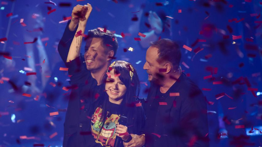 "Michi Beck, Jamie-Lee Krewitz und Smudo im ""The Voice of Germany""-Finale 2015"