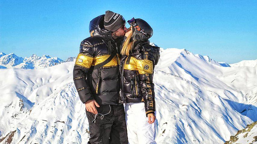 Reality-Star Michi Bauer mit seiner Freundin Stephanie Lindner