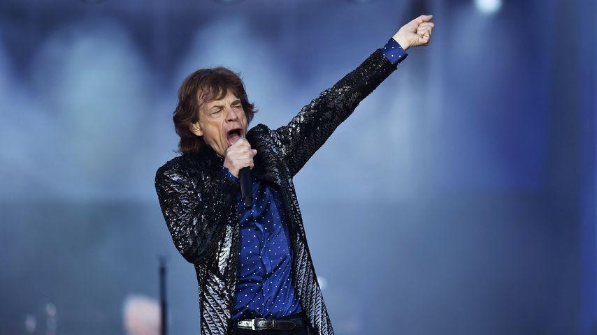Mick Jagger in Dublin im Mai 2018