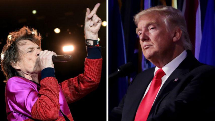 Stones-Song missbraucht: Mick Jagger schießt gegen Trump