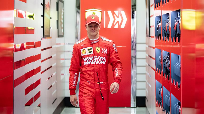 Mick Schumacher im April 2019