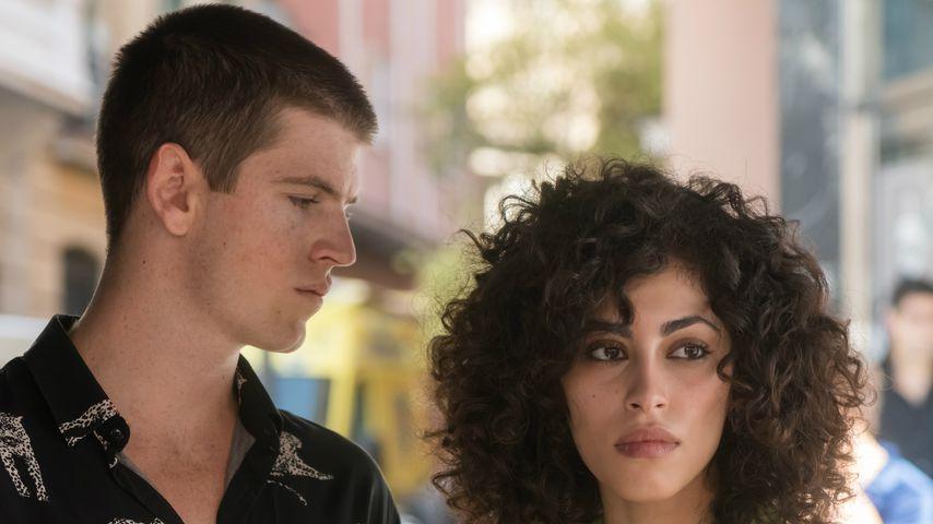 """Miguel Bernardeau und Mina El Hammani in """"Élite"""""""