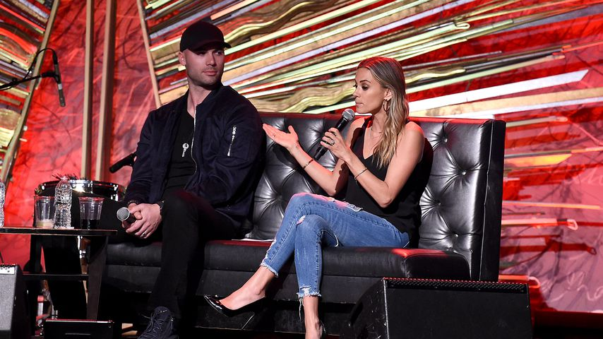 Mike Caussin und Jana Kramer in der Sony Hall im Mai 2019