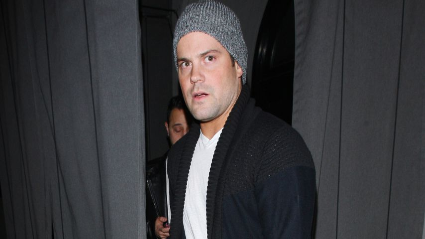 Mike Comrie in West Hollywood
