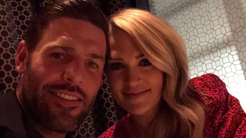 Mike Fisher und Carrie Underwood, Oktober 2019