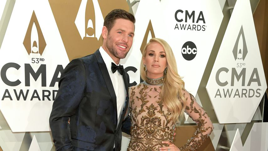 Mike Fisher und Carrie Underwood 2019