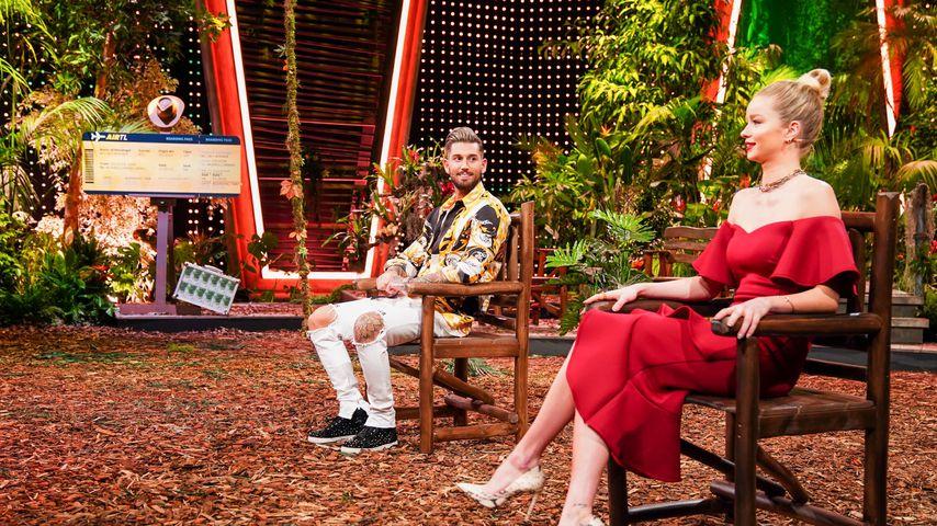 """Mike Heiter und Zoe Saip, """"Ich bin ein Star - Die große Dschungelshow"""" 2021"""