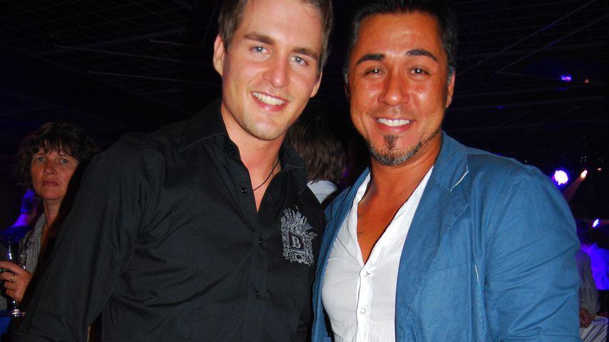 Mike Leon Grosch und Alexander Klaws in Gelsenkirchen, 2009