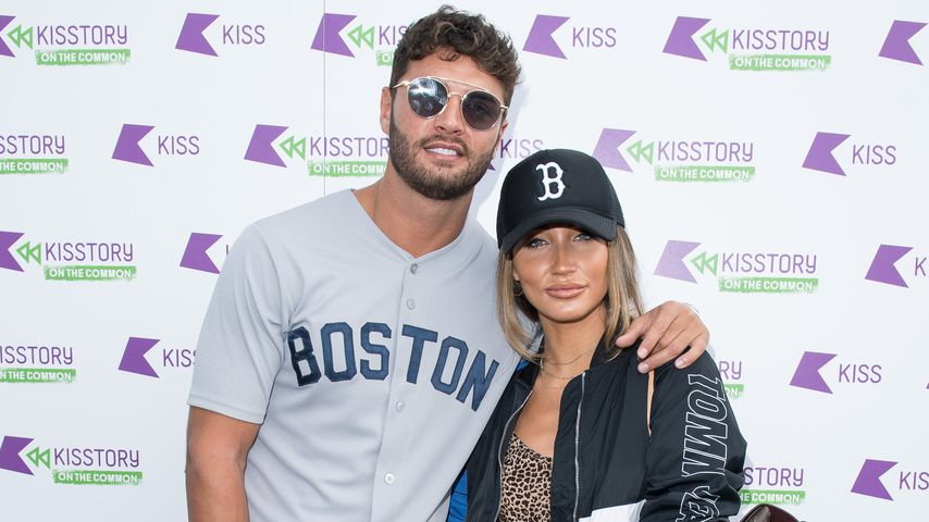 Mike Thalassitis und Megan McKenna im Juli 2018 in London