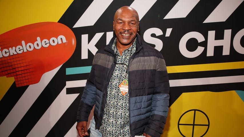 Mike Tyson bei den Kids' Choice Awards 2018