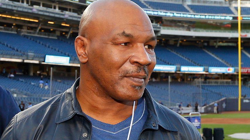 Mike Tyson im Yankee Stadium in New York