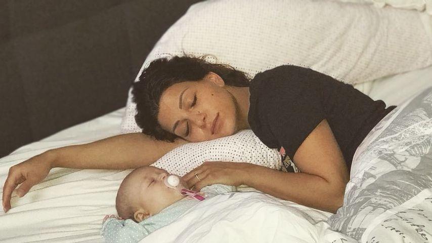 Schwangere Inci am Ende: Baby Mila macht Nacht zum Tag