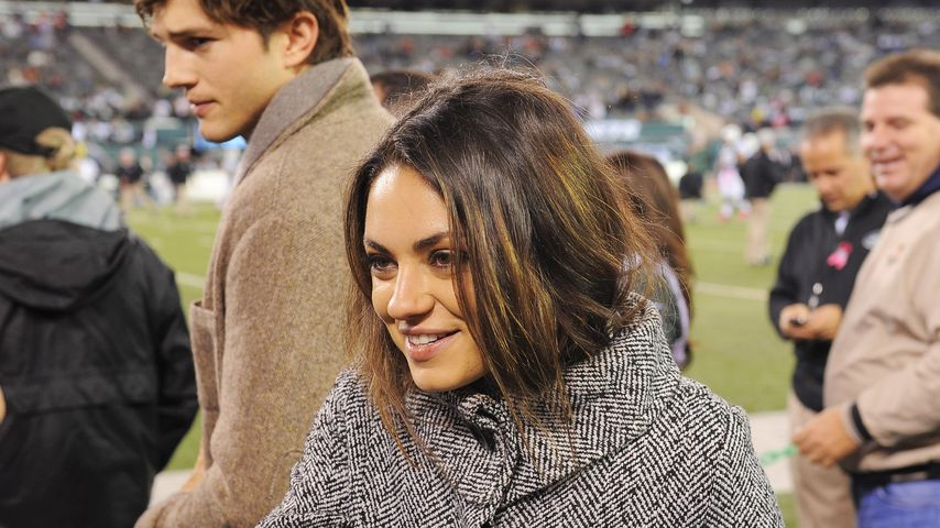 Mila Kunis kann's mit Kutchers Kumpels