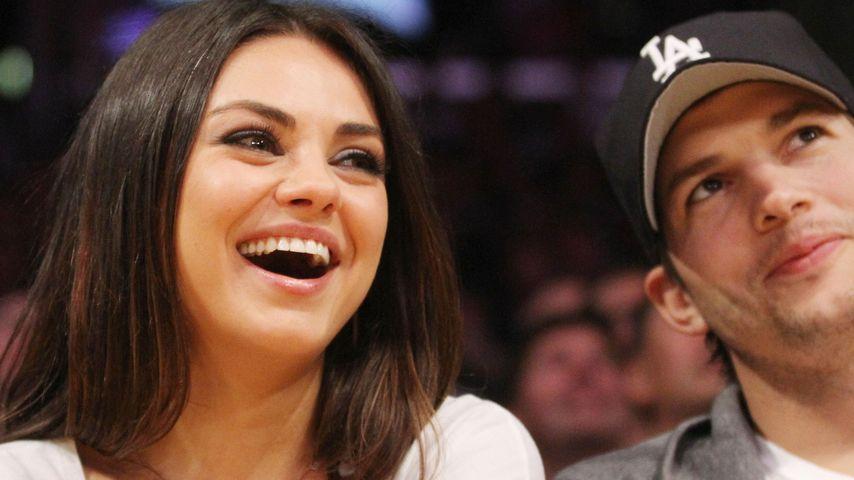 """Mila Kunis schwärmt: """"Ashton Kutcher ist ein toller Vater"""""""