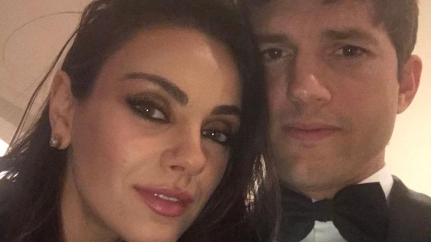 Seltenes Paar-Selfie: Mila & Ashton genießen Oscar-Nacht
