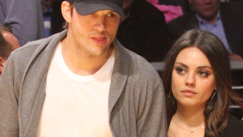 Ashton Kutcher will seine Liebe zu Mila schützen