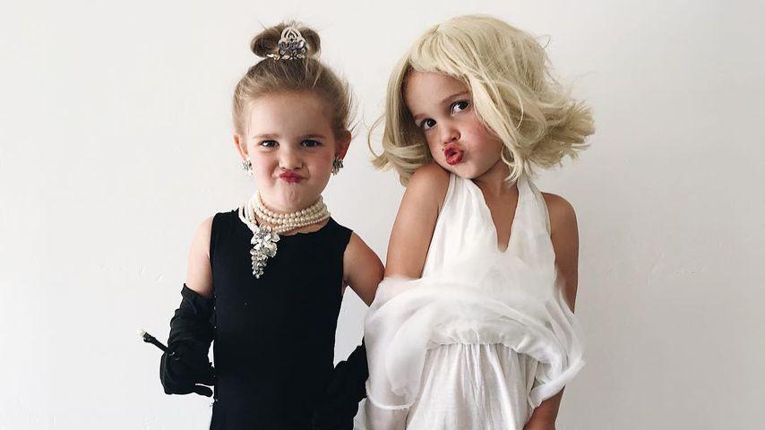 Kostüm-Twins: Mila & Emma Stauffer (3) werden zum Viral-Hit!