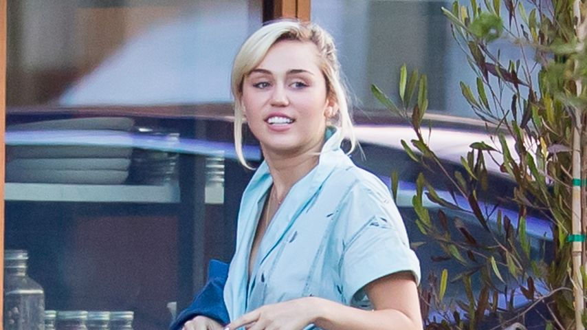 Miley Cyrus vor dem Soho House in Malibu, Kalifornien