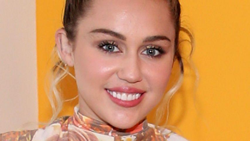 """Miley Cyrus bei der Premiere von """"Crisis in six scenes"""" in New York"""