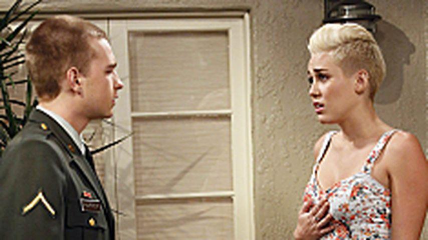 Miley: Angus T. Jones zu knutschen, war komisch!