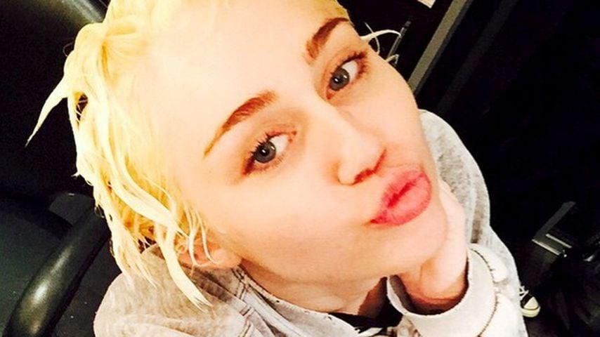 Neuer Style: Miley Cyrus macht auf Justin Bieber