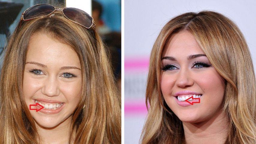 Miley Cyrus im PromiFlash-Zahncheck