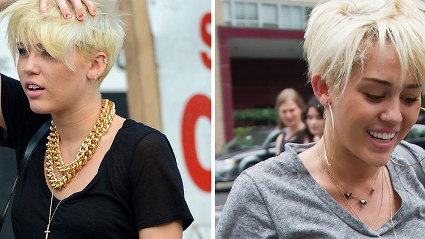 Style-Wandel! Miley wird zu Grungy Cyrus