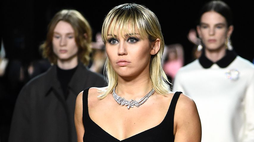 Miley Cyrus bei der New Yorker Fashion Week in NYC im Februar 2020