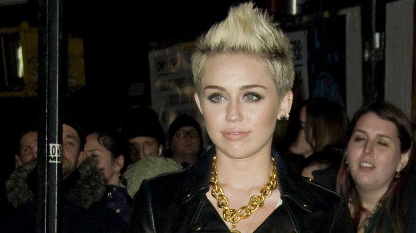 Miley Cyrus: Nicht ohne meine Lederjacke!