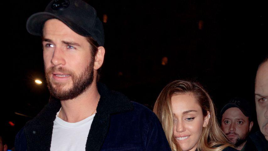 Miley Cyrus und Liam Hemsworth in New York, Dezember 2018